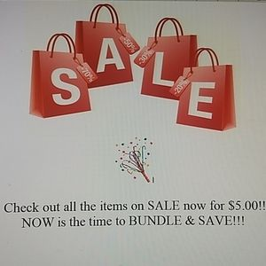 Other - MARCH $5.00 SALE!! BUNDLE & SAVE!!!